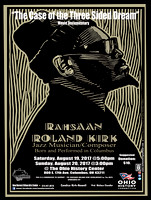 Rahsaan Roland Kirk ~ Scholarship for The Arts (Fundraiser@Documentary)