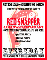 Red Snapper Promotions